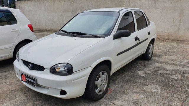 GM - Corsa Sedan 1.6 - 2003 - Direção Hidráulica - Foto 7