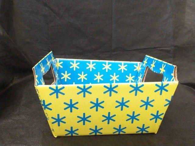 Lindas cestas de papel para o Dia das Mães  - Foto 3