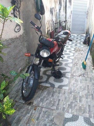 Moto cg 125 ano 1998 de leilão só que emplacar  - Foto 5