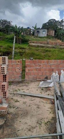 Vendo terreno com casa em construção  - Foto 4