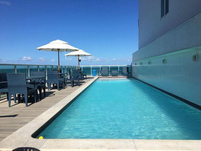 Flat todo mobiliado à venda no Caribessa, localização privilegiada!
