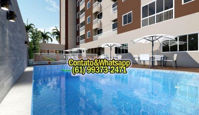Apartamento em Goiania, 2Q (1Suíte), 55m2, Garagem, Lazer Completo! Parcela. - Foto 5