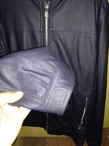 Jaqueta de couro Italiana Alcott(extra grande) - Foto 2