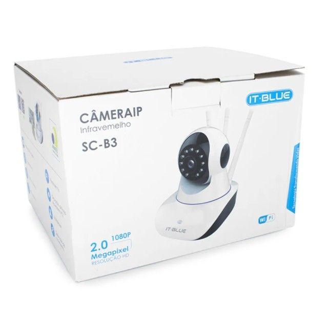 Câmera De Segurança Ip Com Infravermelho Wi-fi It-blue Sc-b3 - Foto 6