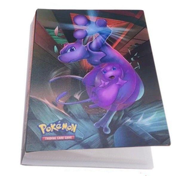 Álbum Pokémon + 100 Cartas Originais de Brinde - Foto 2
