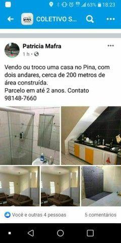 VENDO OU TROCO UMA CASA NO PINA  - Foto 5