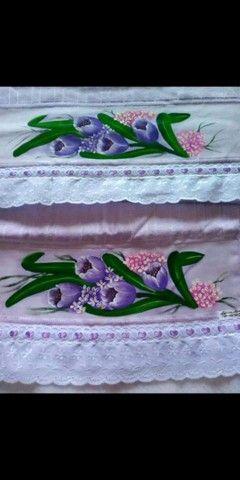 Kit toalha de banho e toalha de rosto  - Foto 5