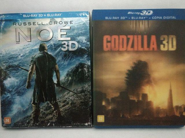 Blu-ray 3D + 2D (Dois discos) - Foto 2