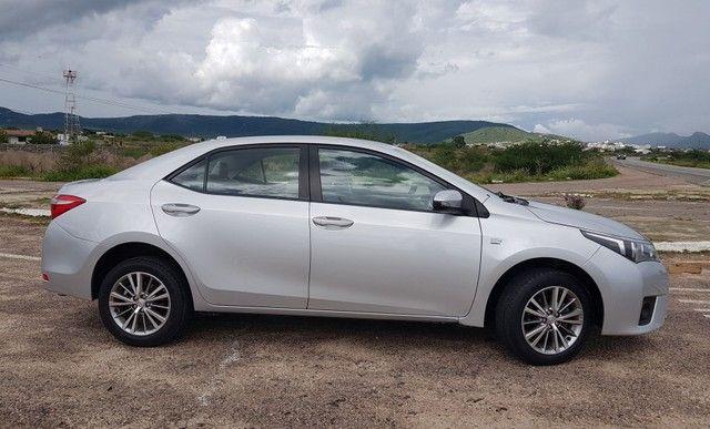 Toyota Corolla 2.0 Aut. Xei 2015 Pneus Novos Ipva 2021 Pago - Foto 6