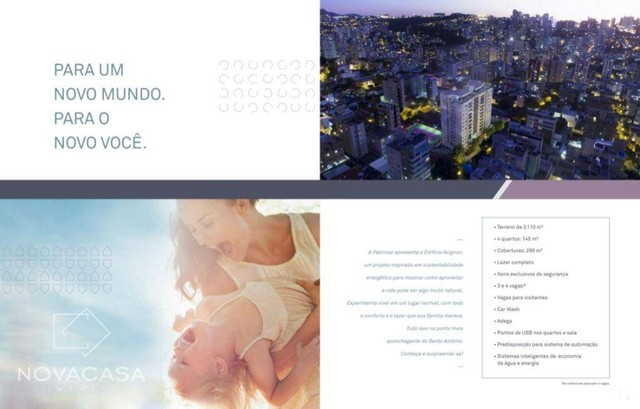 Apartamento com 4 dormitórios à venda, 145 m² por R$ 2.136.464,00 - Santo Antônio - Belo H - Foto 3