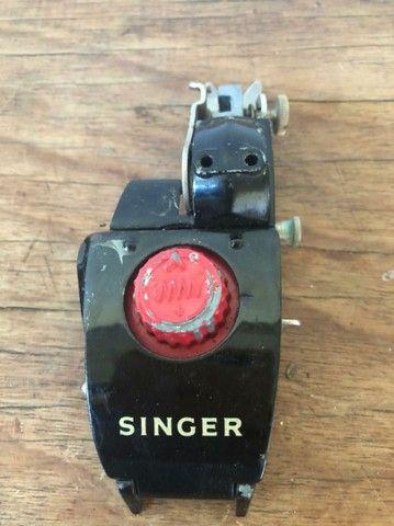 Aparelho automático original Singer zigue zague - Foto 6