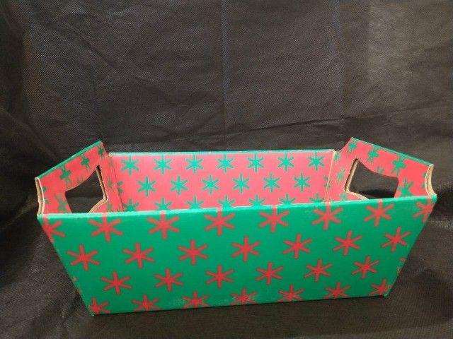 Lindas cestas de papel para o Dia das Mães  - Foto 4