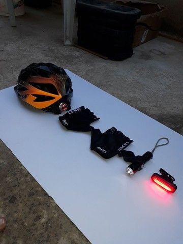 Kit segurança para bike