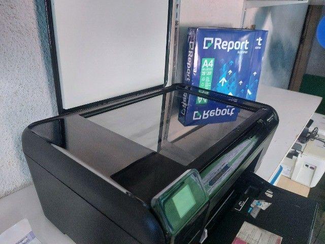 Impressora Multifuncional C4680 + Garantia + cartucho preto + A4 - Foto 2