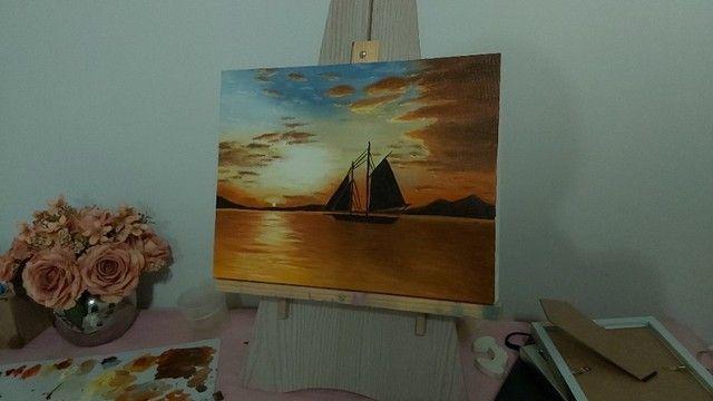 Quadro óleo sobre tela  - Foto 5