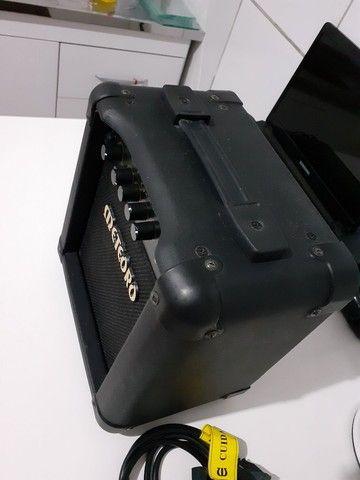 Amplificador Meteoro Super Guitar MG 10 Combo Transistor 10W preto 110V/220V  - Foto 3