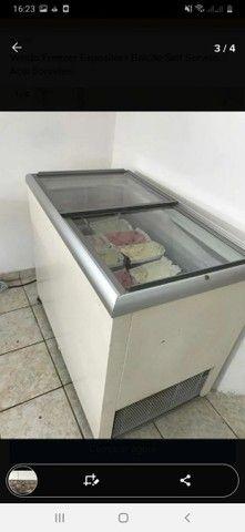 Vendo Freezer Expositor+ Balcão Self Service Açai Sorvetes - Foto 3