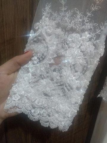 Vestido de noiva usado 1 vez só - Foto 6