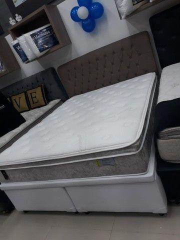 Base Box Bau Queen Size 158x198x40.Compre Direto da Nossa Fabrica.2764-9592 - Foto 3