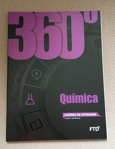 Box 360 Quimica F T D  Dalton Franco, com 6 volumes, usado, - Foto 5