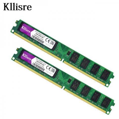 Memória de Desktop DDR2 para Intel (2 pcs X 2G = 4 GB)