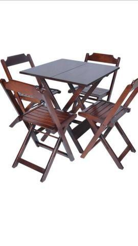 Mega -Promoção- de Conjuntos de mesas dobrável em ate 12x