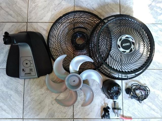 Lote peças Ventilador Arno vf40 turbo Silêncio