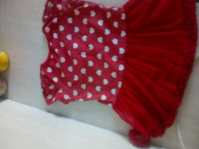 Vestido da Minnie e vestido de borboleta - Foto 2