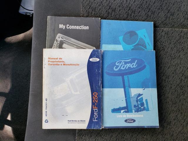 Ford F250 Xlt 4x2 3.9 Diesel Prata Raridade 2011 - Foto 10