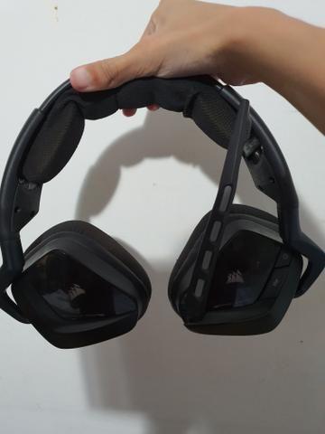 Headset corsair void rgb wireless 7.1 veja a descrição - Foto 4