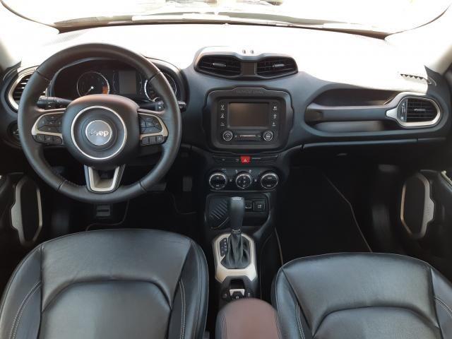 JEEP RENEGADE 2018/2018 1.8 16V FLEX LONGITUDE 4P AUTOMÁTICO - Foto 7