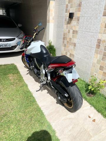 Moto HONDA CB 1000R - 2014 - Tricolor(Capitão América ) - Foto 5
