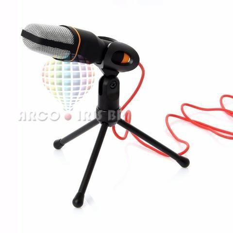 Microfone Condensador Multimidia C Tripe Kp-913 Knup 1950