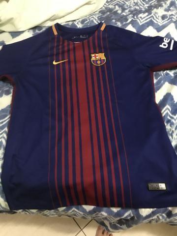 Camisa oficial do barcelona 17/18 - Foto 2