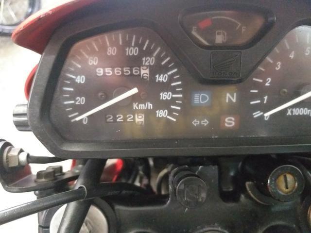 Honda nx4 falcon 2005 troco por moto de menor cilindrada - Foto 8
