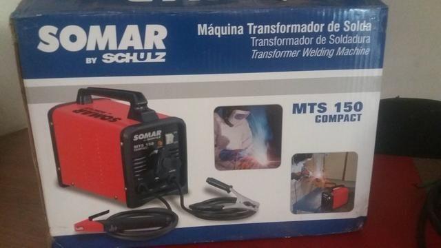 Máquina de Solda MTS 150Amp Compact Somar by Schulz