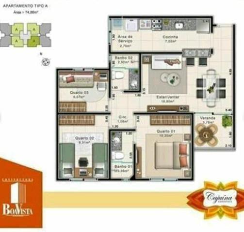 Condomínio Cajuína Residence, com elevador!!! - Foto 3