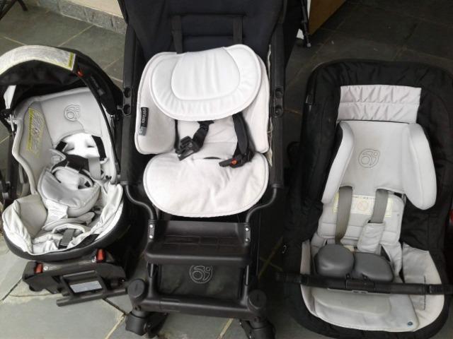 Carrinho Orbiti Baby G3 importado.Jogo completo - Foto 3