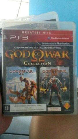PS3 coleção Deus da guerra