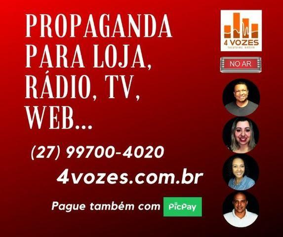 Locutor / Gravação / Propaganda / Vinheta (melhor custo-benefício) - Foto 2