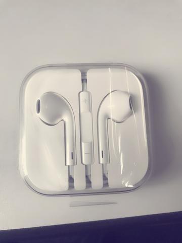 Fone original Apple, para iPhone 6s (entrada P2)