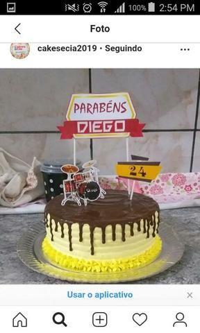 Confeitaria Cakesecia bolos para festa! - Foto 5