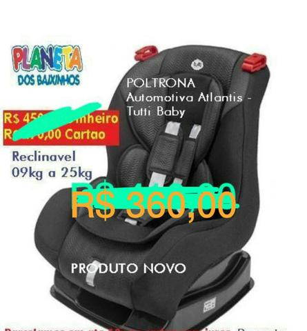 O F E R T A I M P E R D I V E L . Cadeira Automotiva Atlantis da Tutti Baby
