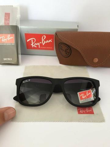 Óculos de sol ray ban justin polarizado - Bijouterias, relógios e ... 9721662a6e