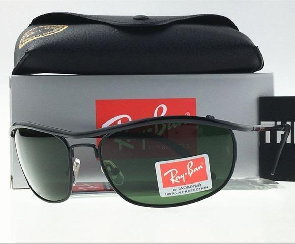 4e2c1a8b98bbe Óculos de Sol Ray Ban Demolidor RB8012 Preto Grafite Novo ...