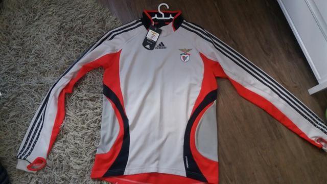 ae744e0370 Camisa de treino Benfica - goleiro - 2008 a 2010 - Esportes e ...