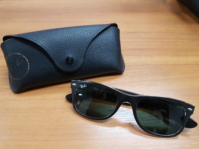 Oculos Ray Ban New Wayfarer Preto Transparente - Bijouterias ... e2ba90e16e