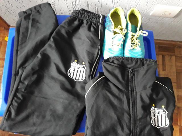 Uniforme de treino santos - Esportes e ginástica - Cidade Industrial ... e4061674e79ae