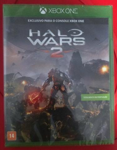 Jogo original Xbox One Halo Wars 2 lacrado