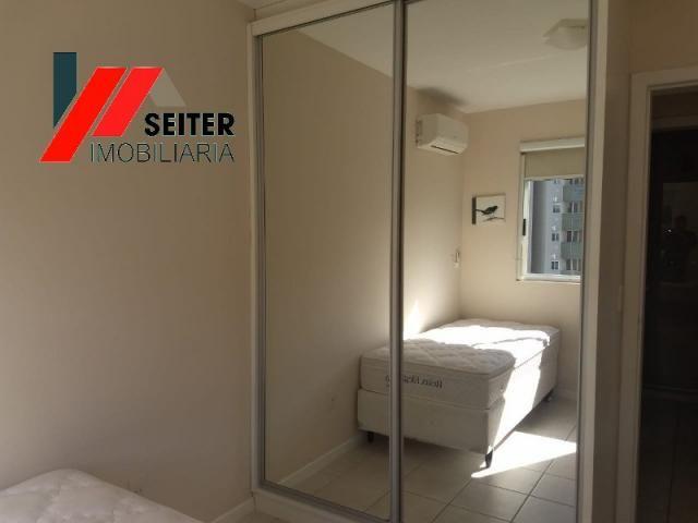 Apartamento mobiliado de 2 dormitorios suite e sacada com churrasqueira no itacorubi - Foto 19